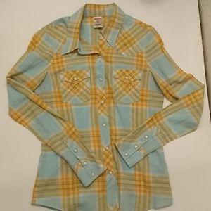 True Religion western shirt snap buttons cotton